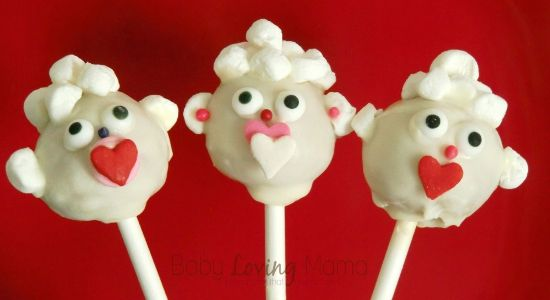 valentine's day cake pops pinterest