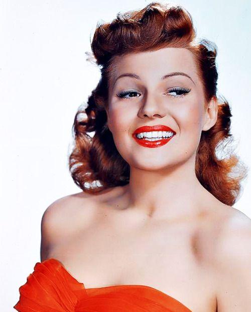 Rita Hayworth My redhead idol