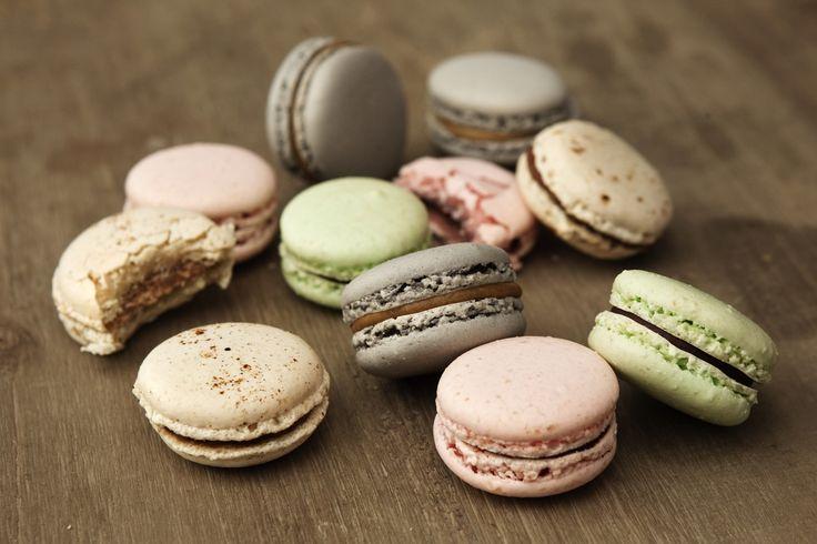 Macarons: De franske kager på billedet er fremstillet af dessertkokken Nicolaos Strangas. - Foto: Jacob Ehrbahn