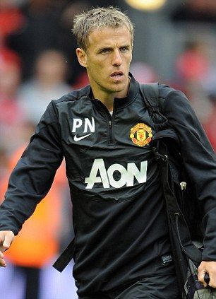 Phil Neville, 1st team coach at Manchester United