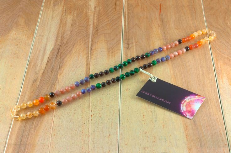 Energy, Gemstone Necklace by InnerCircleJewelry on Etsy https://www.etsy.com/listing/209959587/energy-gemstone-necklace