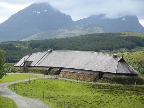 Lofoten, viking museum - Norway