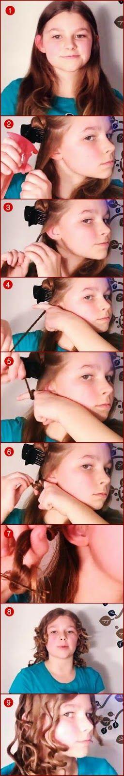 Cara Keriting Rambut Alami Tanpa Alat dan Paling Mudah!! Versi 1 ~ Intan Tutorial