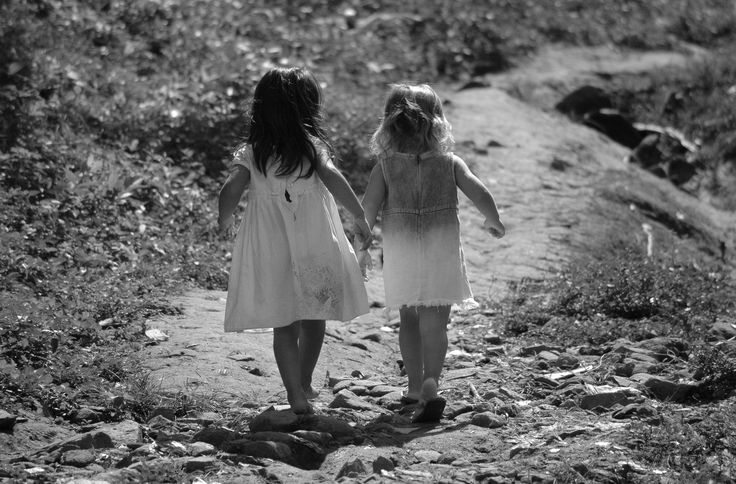 Best Friends Forever.    Sometimes you have an unexpected photo op moment. I saw theses two little girls walking up the hill to their very basic home that was located beside a very polluted river and had no electricity. In spite of their barefeet and flipflops as well as obvious poverty, they were adorable in their dresses. The importance of pride and friendship forever.   For more photos like me on facebook. Thanks.   https://www.facebook.com/profile.php?id=100004673912369