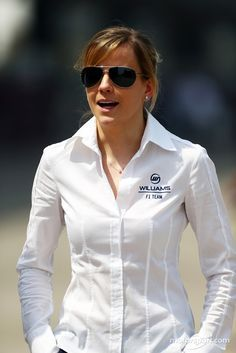 Susie Wolff drives DTM and looks stunning in shades