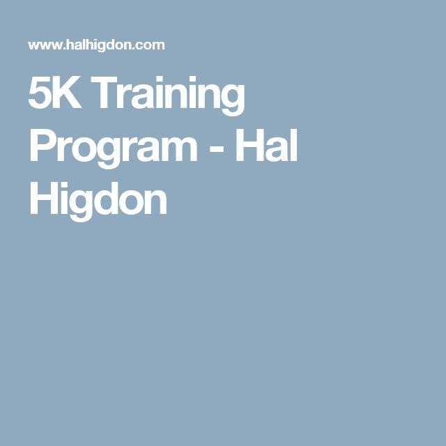 5K Training Program - Hal Higdon