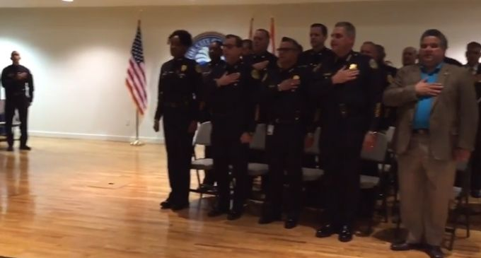 Miami Asst. Police Chief Refuses To Honor Pledge of Allegiance Due To Muslim Belief