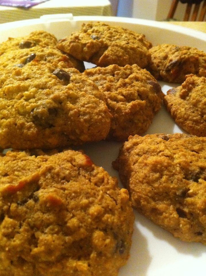 Pumpkin Oatmeal Raisinet Cookies, yum! | FOOD@DRINK | Pinterest