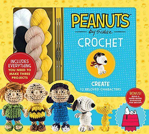 Peanuts Crochet Kit and Amigurumi Pattern Book (Crochet Kits)