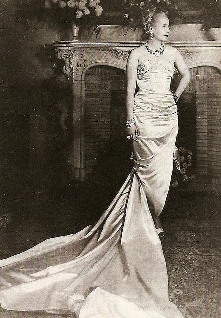 Eva Peron in Paris, 1947, by Cecil Beaton
