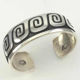 Water Wave Cuff by Anderson Koinva - Garland's Indian Jewelry