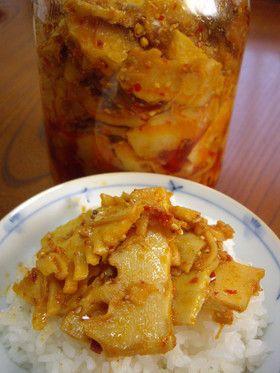 たけのこで作る保存食!食べるラー油メンマ。