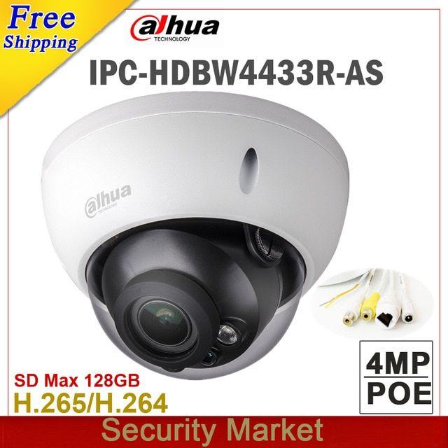Whosale Dahua Original 4mp Camera Ipc Hdbw4433r As Replace Ipc Hdbw4431r As Wireless Home Security Systems Security Cameras For Home Best Home Security Camera