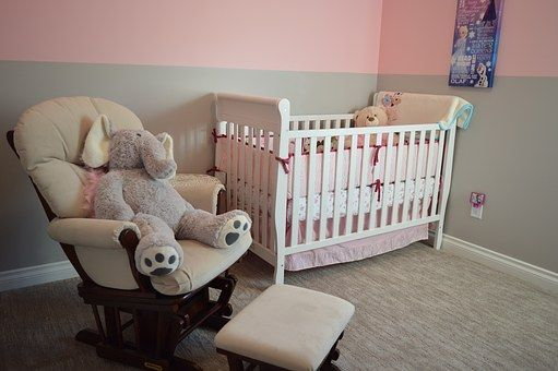 Pink And White Baby Room Ideas For Moms #baby #room #ideas #design #mom #κούνια #μαμά #μωρό
