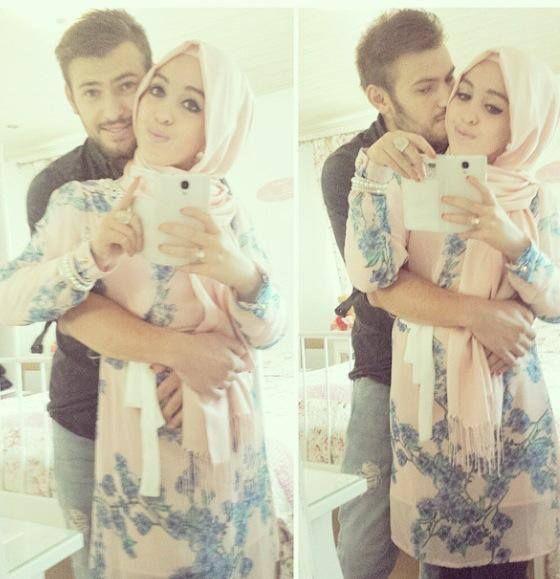 :* Muslim couple