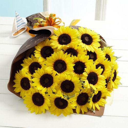 父の日 花束「太陽の贈りもの」20本