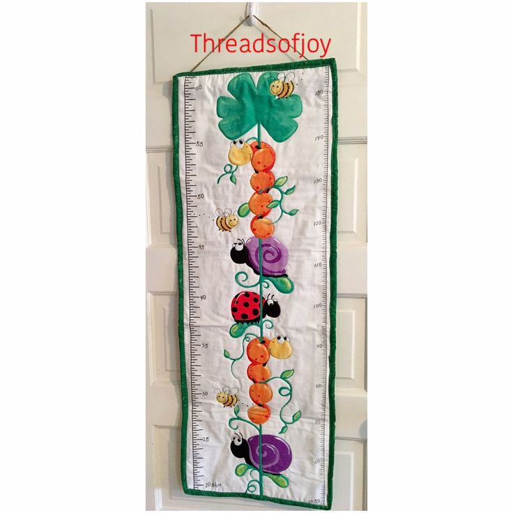 Toddler growth chart makes a great addition to a birthday gift. Order yours today Etsy.com/shop/BrendaBordas