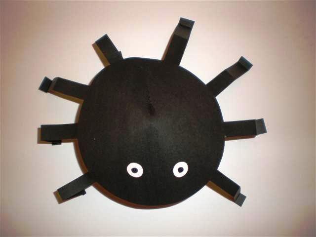 Knutselen: spin van papier