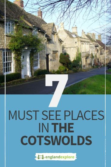 The best places to visit in the Cotswolds are the epitome of what many visitor would see as the English countryside...