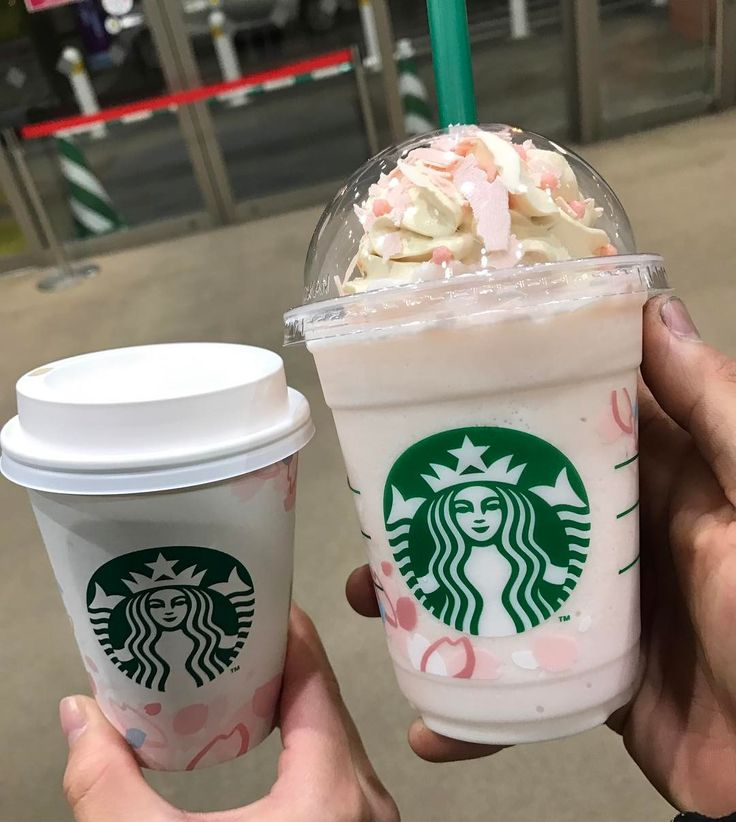 Every year, in celebration of Sakura season, Starbucks stores around Asia release their Sakura latte and Frappuccino – a blend of cherry blossom flavour and matcha, topped with pink maple-flavoured whipped cream, pink rice crackers, and shavings of pink chocolate that resemble the cherry blossoms.