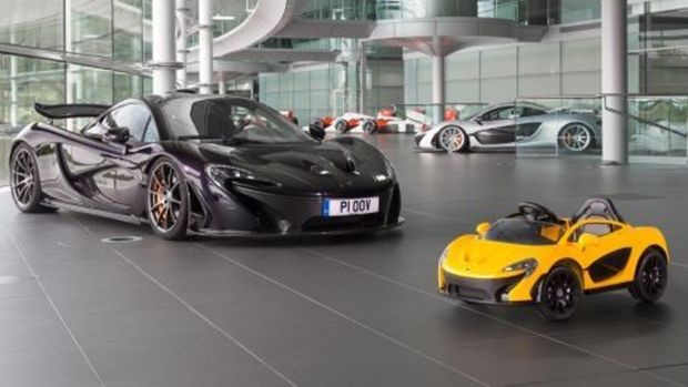 XMAS WISHLIST: Mini McLaren shares a lot of DNA with its bigger brother