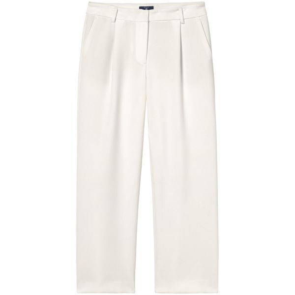 GANT - Culotte Pants Cream for women | Offisiell nettside Pris  1'400,-