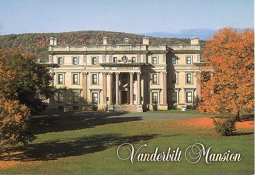 The Vanderbilt Estate.  Hyde Park, NY