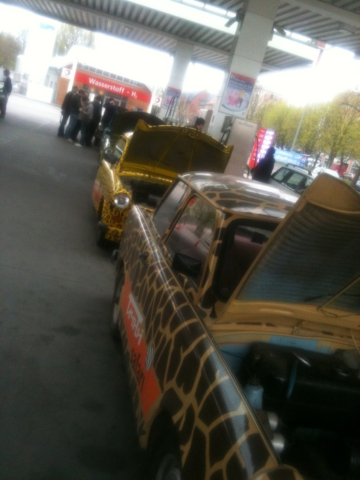 Trabant race i Berlin 2011