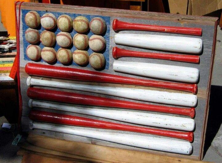 Baseball decor for future kid