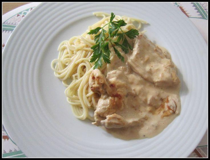 Hoje no blog partilho com vocês uma receita simples e saborosa! https://ontemesomemoria.blogspot.com/2017/10/receita-06-peitos-de-frango-em-molho-de.html