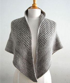 Pointed Firs shawl pattern