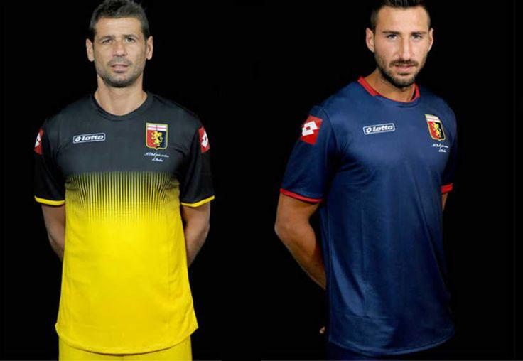 Genoa CFC 14-15 Home and Away Kits Released - Footy Headlines