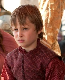 prince tommen baratheon played by Callum Wharry - Game of Thrones