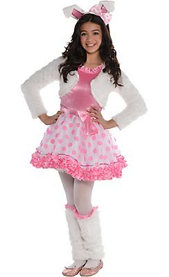 Girls Honey Bunny Costume