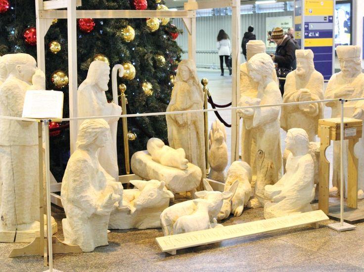 Life-size nativity scene, Stuttgart