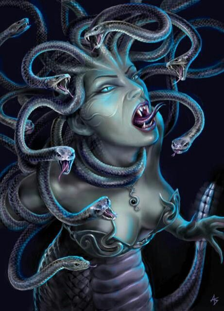 I will someday get a Medusa tattoo inspired by this! Sexy yet wicked/evil and assertive!