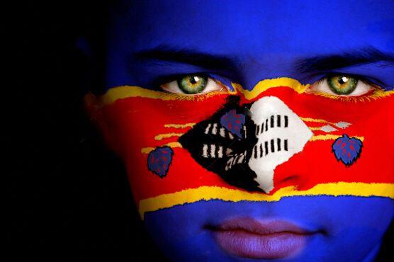 Swaziland Flag Boy