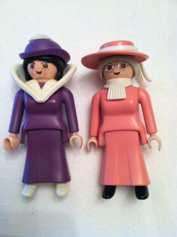 Vintage Playmobile Figures by jecavintage on Etsy, $6.00