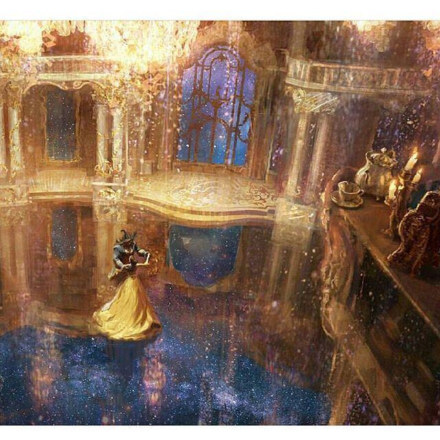 Karl Simon #batb conceptual art this is just stunning!!! Gently shared by the beautiful page @waitingforbeautyandthebeast . . #beautyandthebeast #beautyandthebeast#beautyandthebeast2017#labellaelabestia #labellaelabestia#beourguest #stiaconnoi #stiaconnoi#somethingthere#belle#Disneyworld#disney#disneyarts#beast#conceptart#disneyneverlandpixiedust