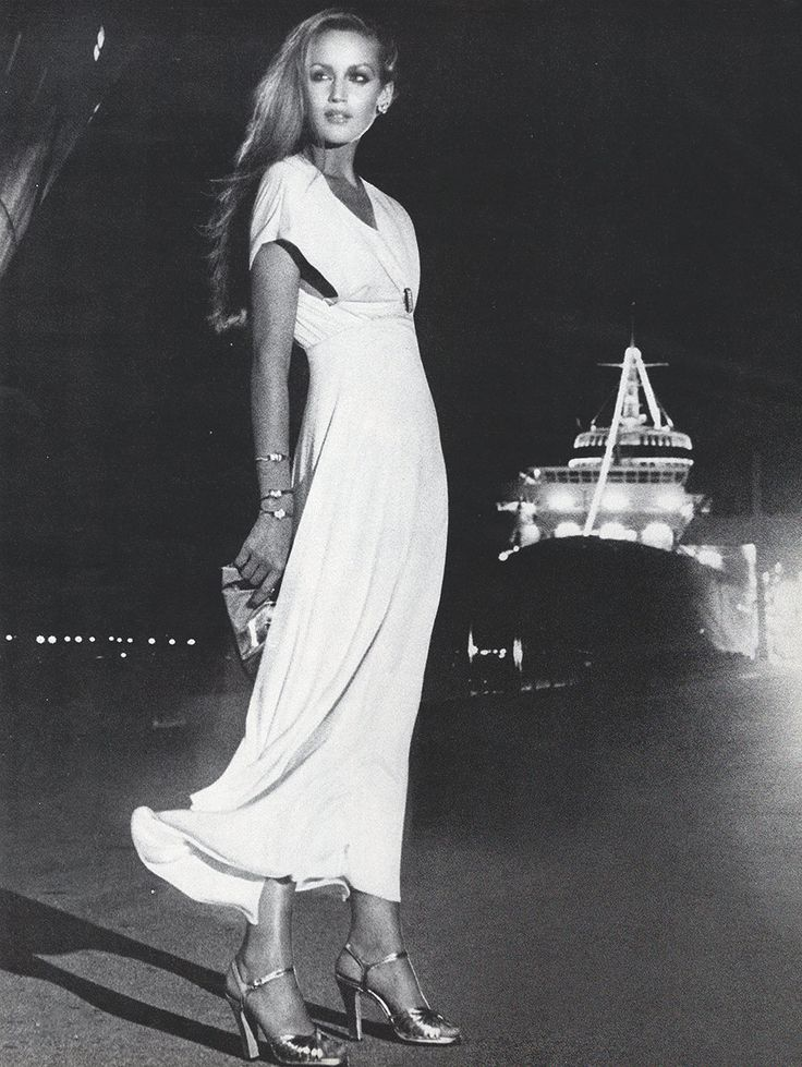 Jerry Hall by Helmut Newton