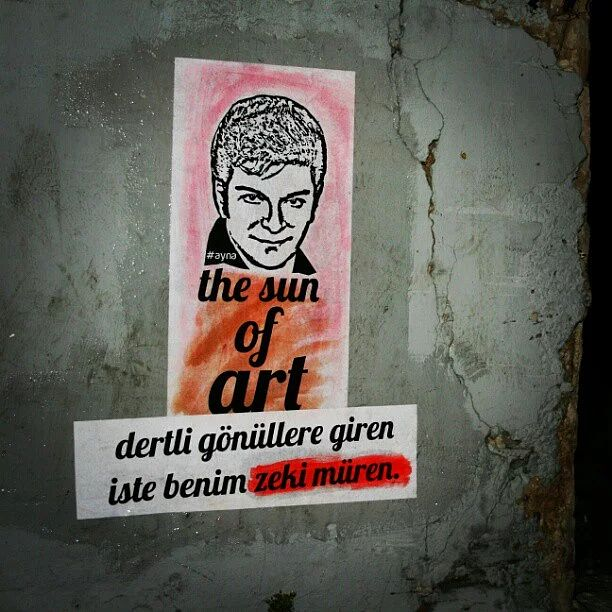 Türk Sokak Sanatı : Duvar Yazıları