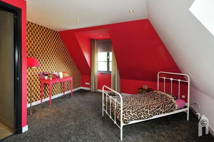 Detail slaapkamer.