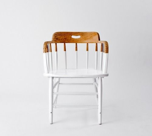 stuhl weiß holz DIY white chair wood