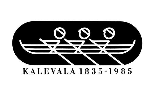 Juhlavuoden Soutajat-tunnuksen suunnitteli Kyösti Varis.