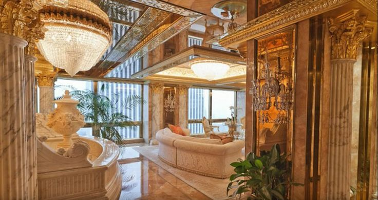 Here's a Look at Every Single One of Donald Trump's Homes  - HouseBeautiful.com