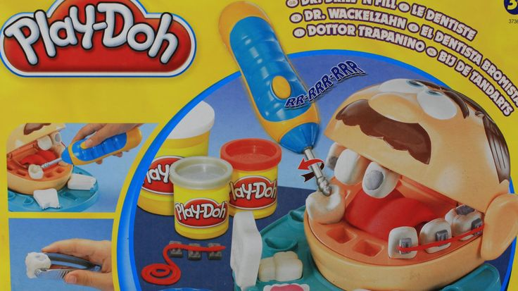 Play Doh Diş Doktoru Oyun hamuru Kutusunu Açma-Play Doh Doctor Drill N F...