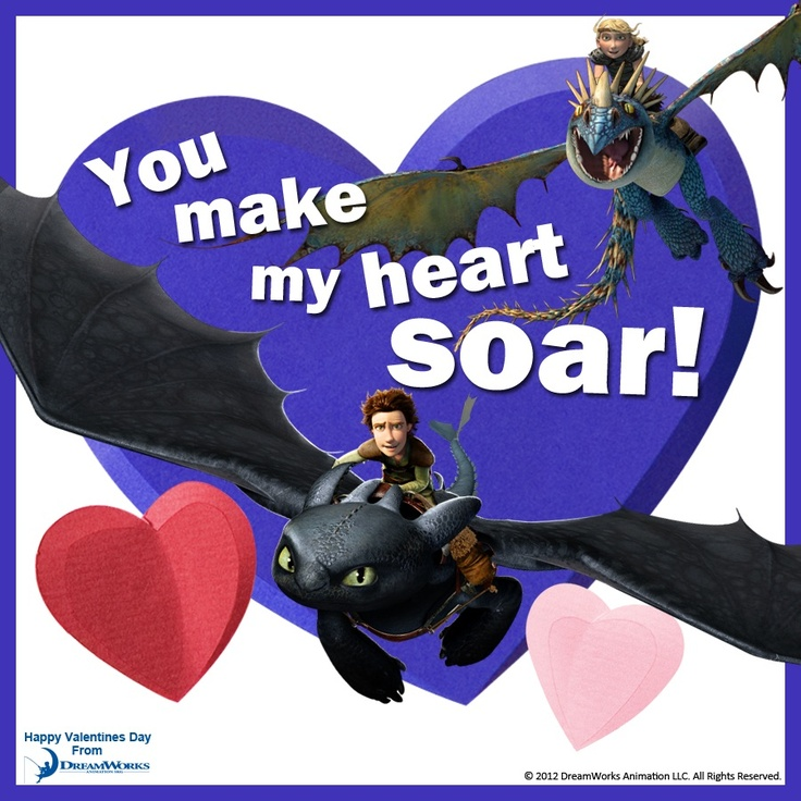 18 best valentines day cards images on pinterest dreamworks how to train your dragon valentine ccuart Choice Image