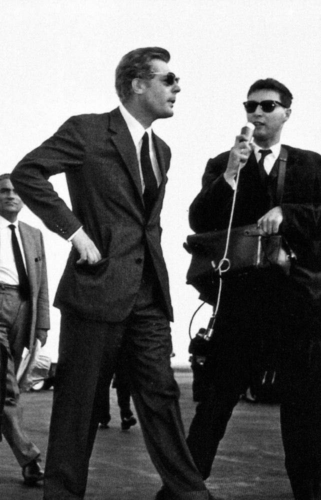 Marcello Mastroianni at the 1962 Cannes Film Festival.