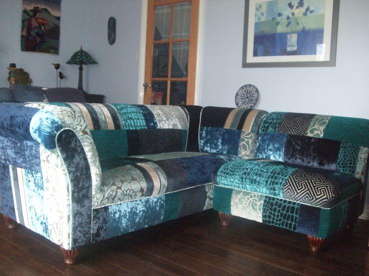 Patchwork Sofas UK - Blue Moon #bespoke_sofas #patchwork_sofa #patchwork_sofa_uk #sofas #patchwork_sofas #bespoke_patchwork_sofa #bespoke_patchwork_sofas