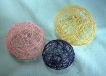 String Balloons Using Crochet Floss - NeedlepointTeacher.com